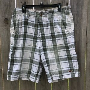 Hollister Men's Plaid Shorts